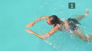 swimming breaststroke as a type of moving meditation