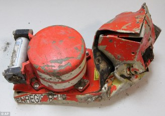 Crumpled Cockpit Voice Recorder Retrieved from the Wreckage