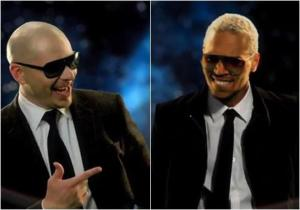 Pitbull and Chris Brown
