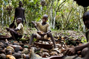 Child Slavery on Chocolate Plantations